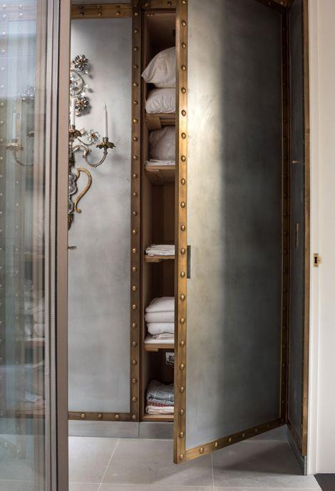 Rupert Bevan - Interior Design London   Interior Finishes - Patinated ZincCladding