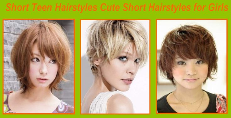 Short Teen Hairstyles Cute Short Hairstyles for Girls #NaturalHairstyles #ShortHair #Hairstyles #Hair