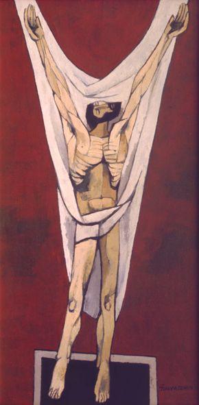 ''Cristo 2'' Oswaldo Guayasamin