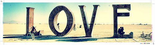 Love on the Buring Man Playa.   ~Fleshcap