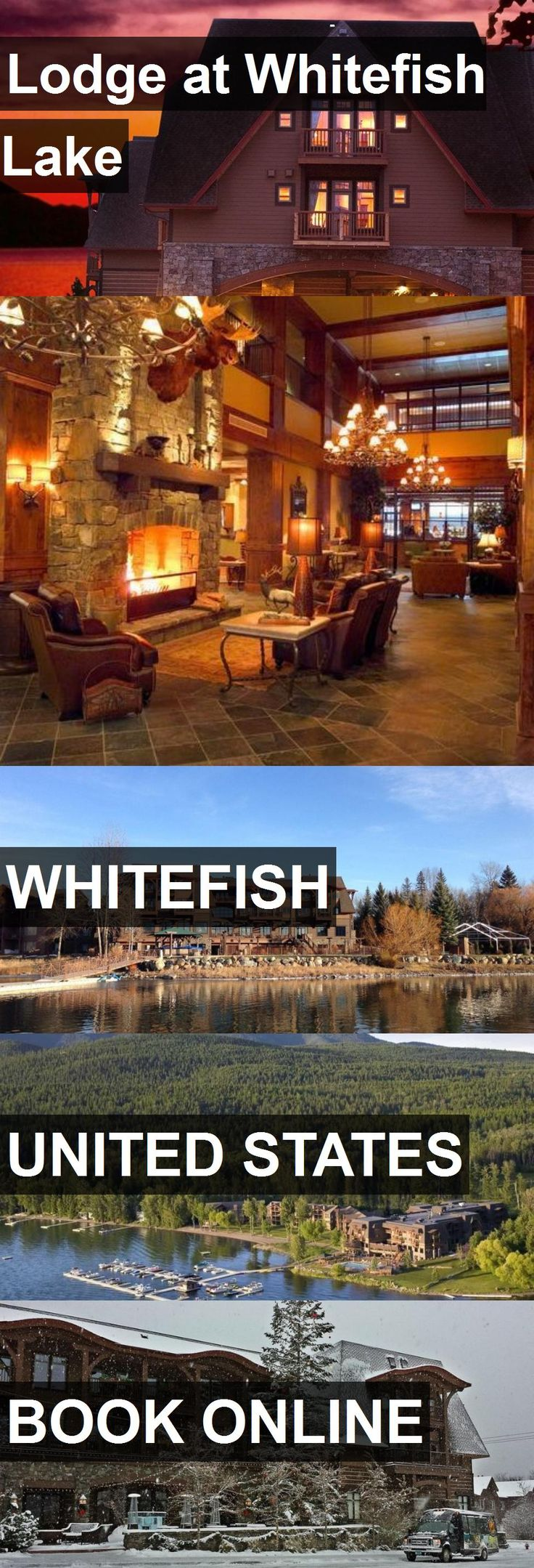 Hotel Lodge at Whitefish Lake in Whitefish, United States. For more information, photos, reviews and best prices please follow the link. #UnitedStates #Whitefish #LodgeatWhitefishLake #hotel #travel #vacation