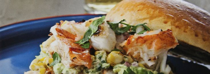 This luscious sandwich of grilled lobster with corn-avocado salsa from Bobby Flay is what summer is all about. Try them on Nature's Own Butter Hamburger Buns!