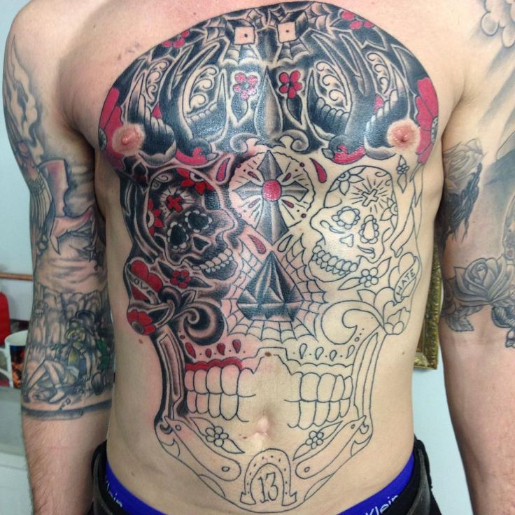 48 Best Images About Sugar Skull Tattoo Designs