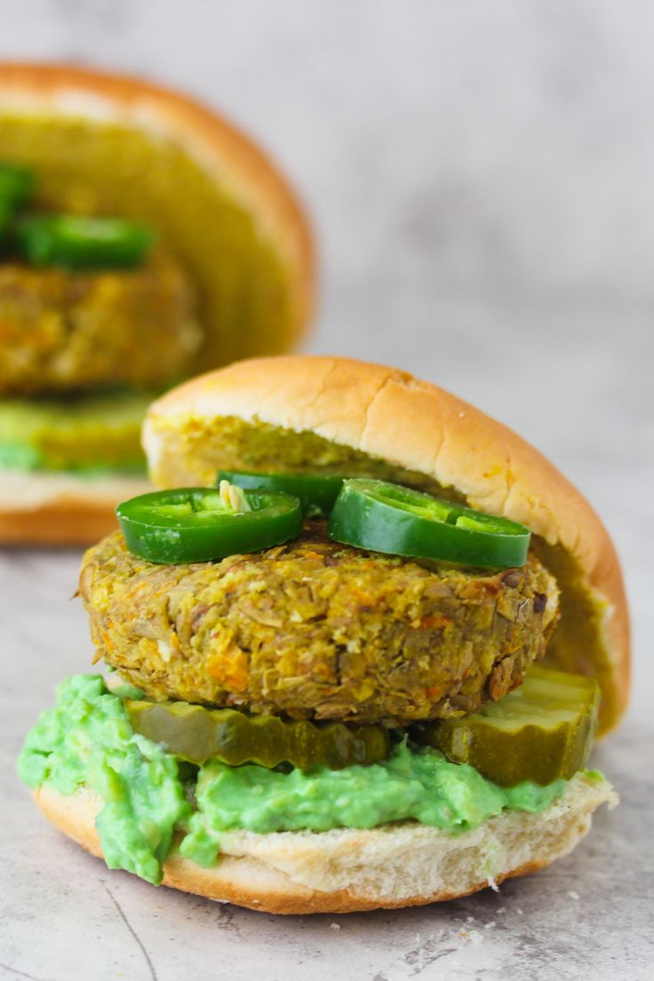 burger with a spicy kick! Did I mention there vegan! Check out ...