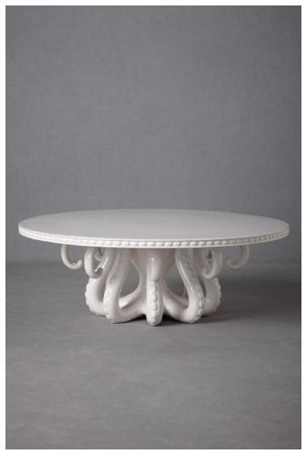 amazing octopus tentacle cake stand