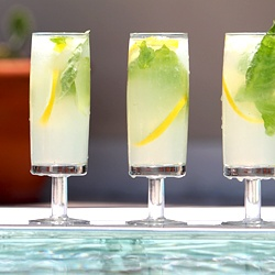 Anestasia Vodka is Lemon Vanilla Basil cocktail, a slightly sweet drink with vodka and dry vermouth
