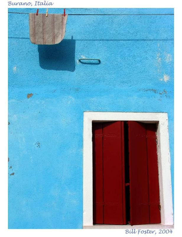 Burano, an island in the...: Photo by Photographer Bill Foster - photo.net