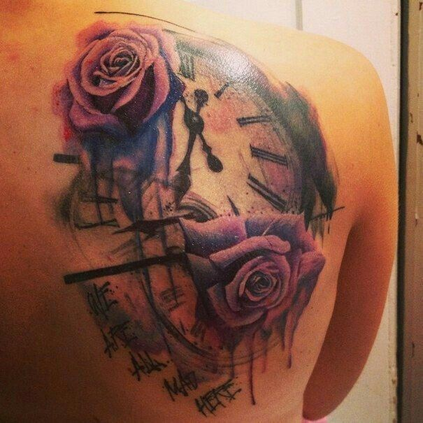 Alice in Wonderland tattoo - possible cover up. So love it!!