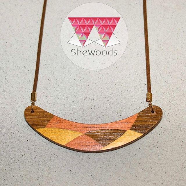 #shewoods #giftshop #handmade #wooden #jewellery #statement #jewelry #positivevibes #wearitloveit #shewoods