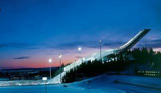 The new Holmenkollen Ski Jump in Oslo, Norway - Photo: VisitOSLO/Normanns Kunstforlag/Terje Bakke Pettersen