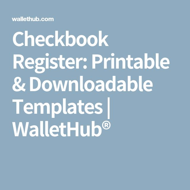 Best 25+ Checkbook register ideas on Pinterest Check register - check registers