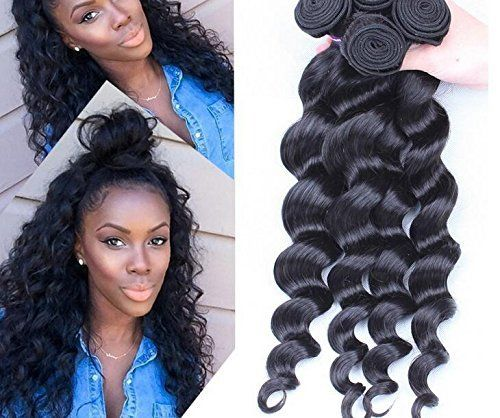 Worldflying Brazilian Virgin Hair Loose Wave Brazilian Human Hair Extension 830 Inch 100gpiece 1 Pieceslot Total 100g 20 Inch *** Want to know more, click on the affiliate link Amazon.com.