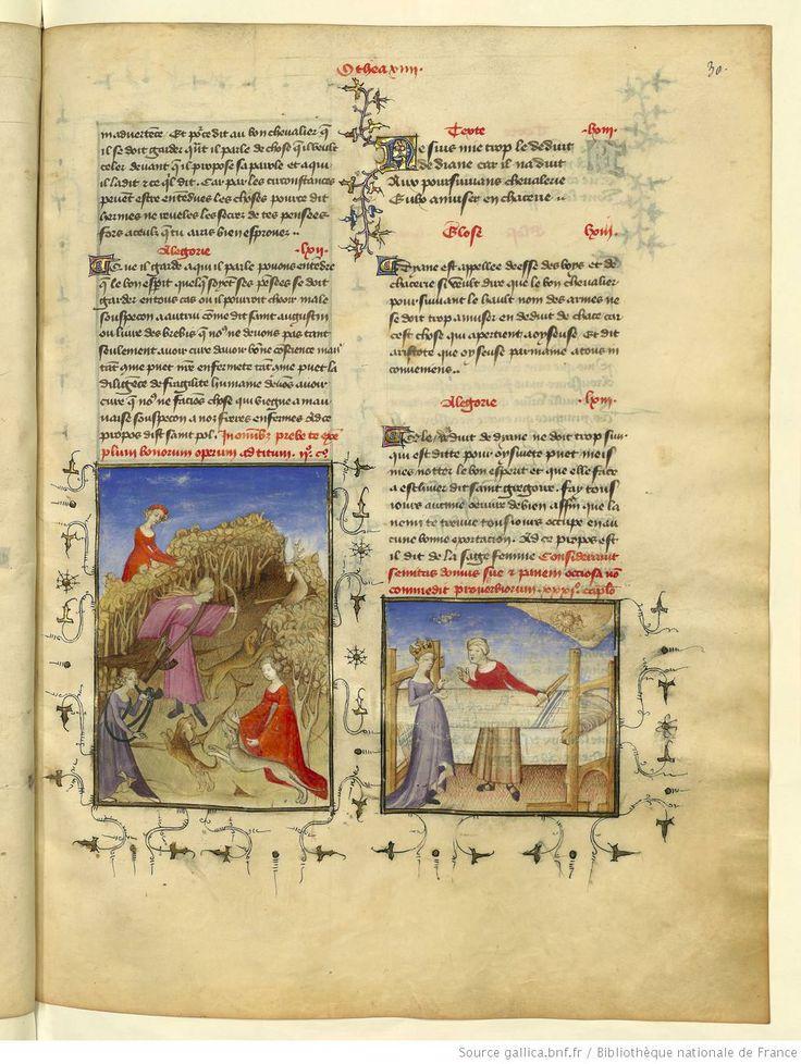 L'Epistre Othea à Hector, fol 30r