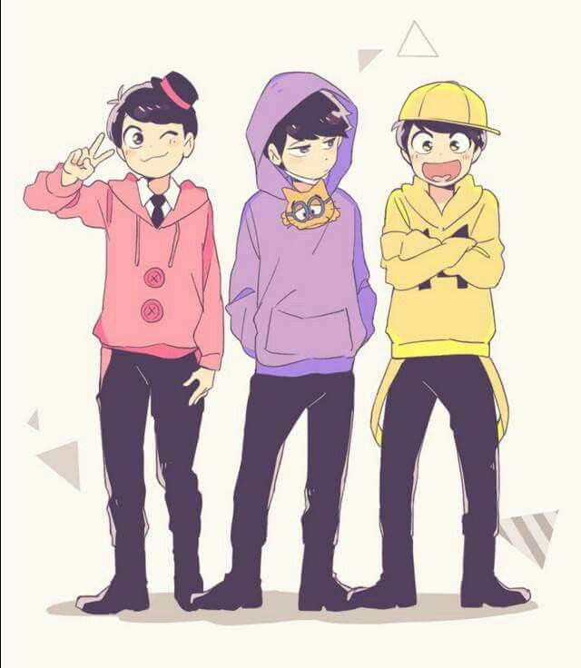 Todomatsu, Ichimatsu & Jyushimatsu