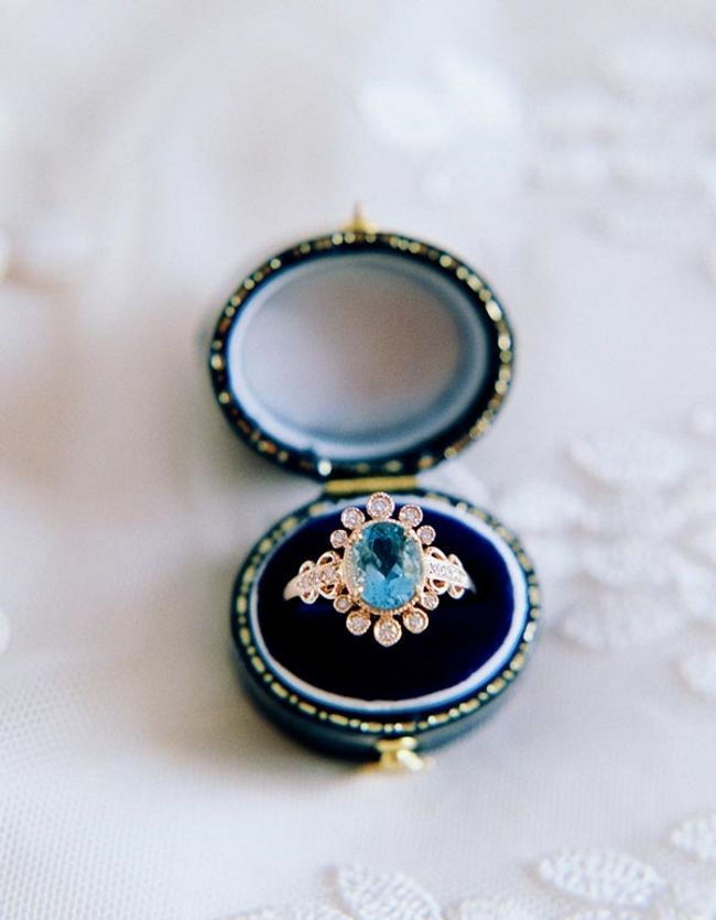 Vintage Inspired Engagement Ring by Claire Pettibone