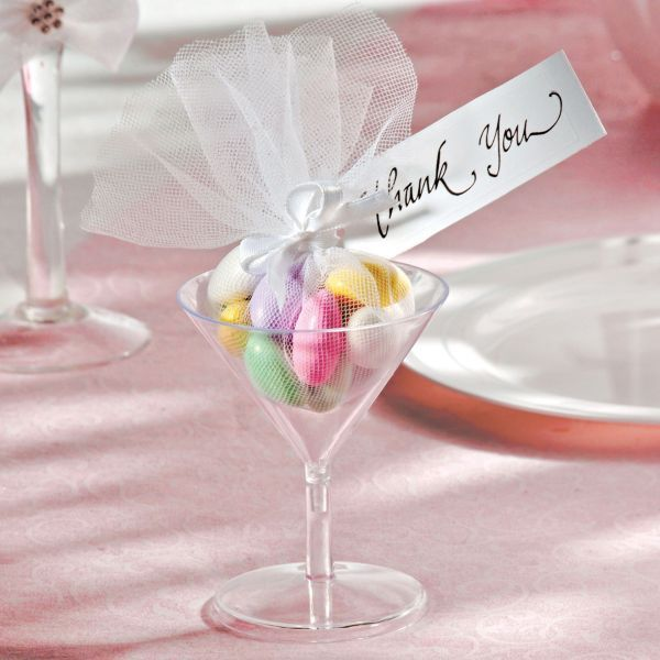 Martini Gl Wedding Favor Kit 24ct