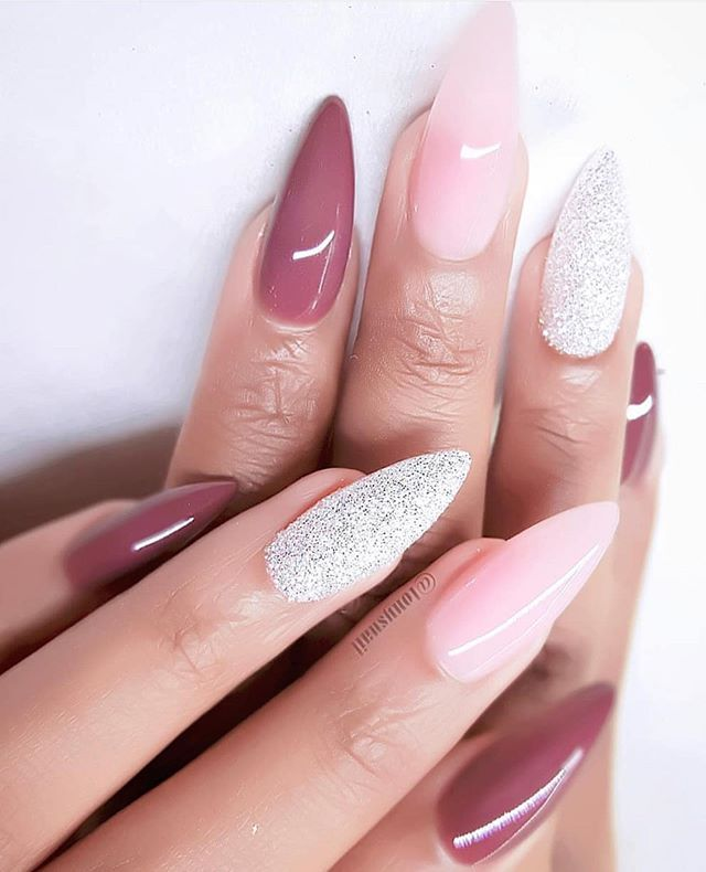 22 Pretty Mismatched Nail Trends For 2020 Pretty Nail Art