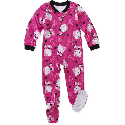 Hello Kitty Baby Girls' Blanket Sleeper: Baby Clothing : Walmart.com