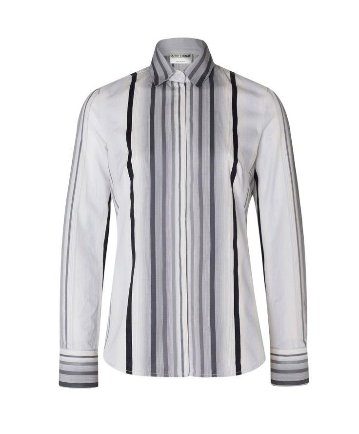 Chemise pour femme Outfit Format. Made in Europe et disponible sur Warsowe