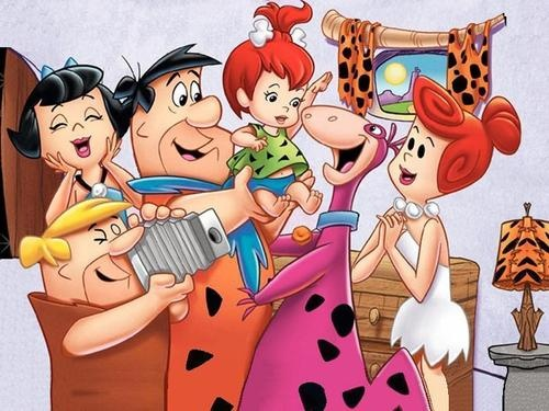 Flinstones!  I watched every cartoon made  I never could get the bone to stay in my hair like pebbles did......