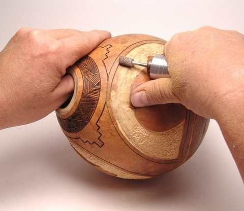 Carving+Gourds+with+a+Dremel | Basic Power Carving Class