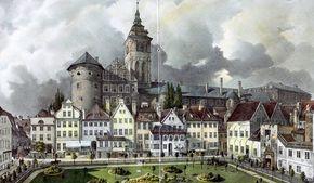 Koenigsberg 1836 Kaiser Wilhelm Platz
