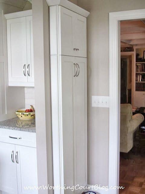 linda's remodeled kitchen | narrow kitchen
