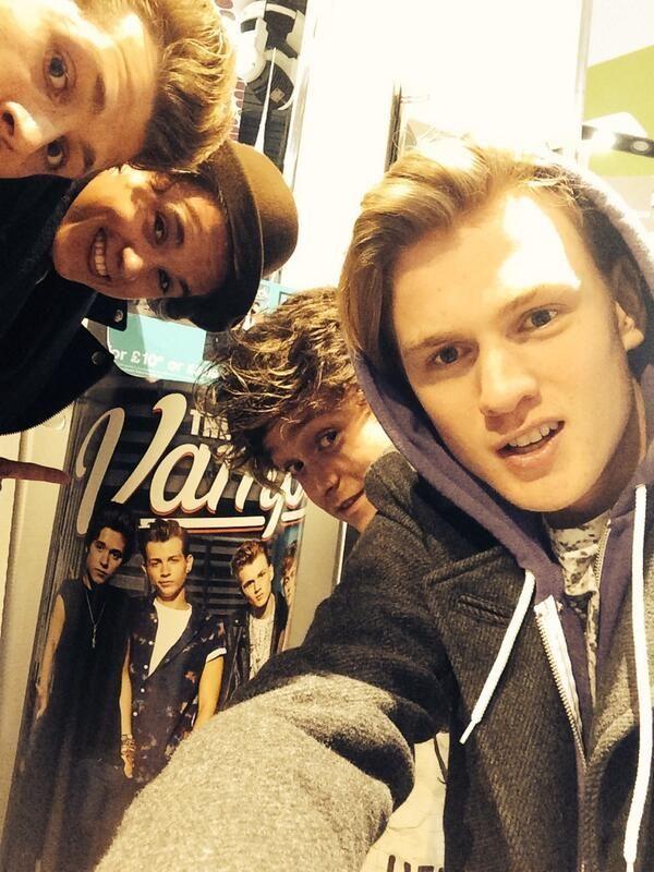 Tris, James, Con and Brad
