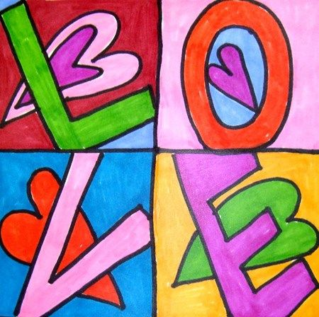 Have students pick a word, then they can create a pop-art like poster for a project!