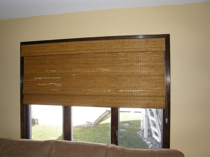 Бамбуковые жалюзи - изюминка в интерьере! #window #blinds #interior #шторы #жалюзи #декорокна #рулонныежалюзи #рулонныешторы #rollblinds