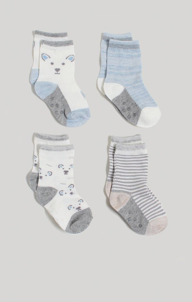 cc0ea6129 Baby Boy Crew Socks 4 Pack