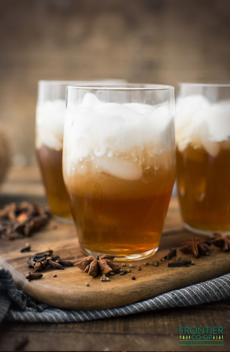 So refreshingly delicious, this homemade Thai iced tea, made by brewing loose leaf tea with star anise, cloves and organic cardamom, is perfect for a hot summer day.