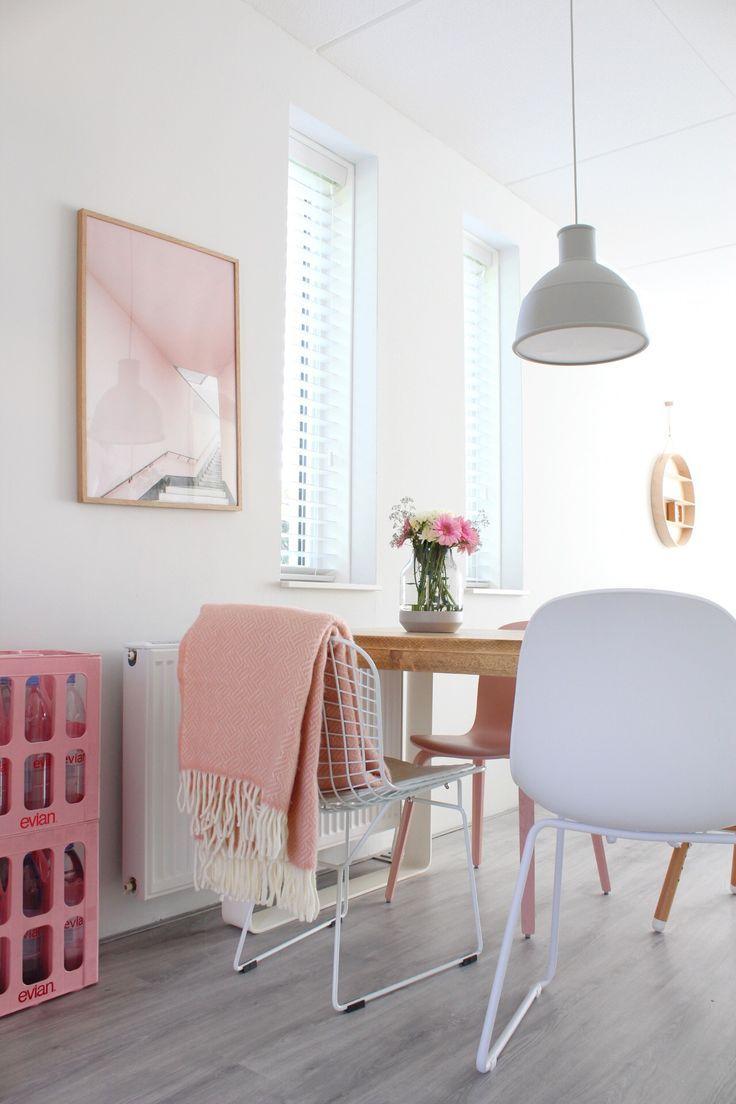Een Mooi Pastel Plaid Voor In Een Romantisch Scandinavisch