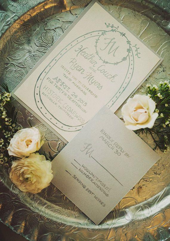Rustic Nashville wedding   photo by Ariel Renae Photography   100 Layer Cake738 best Wedding Invitations images on Pinterest   Invitations  . Nashville Wedding Invitations. Home Design Ideas