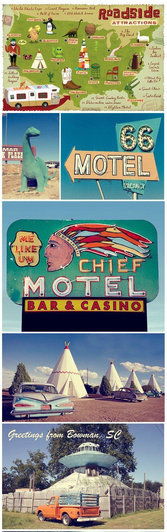 Road Trip across America, great ideas! #travel