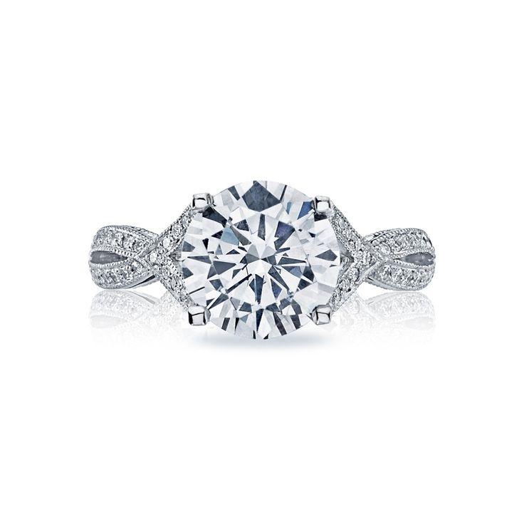 Tacori 2565 LG RD Engagement Ring