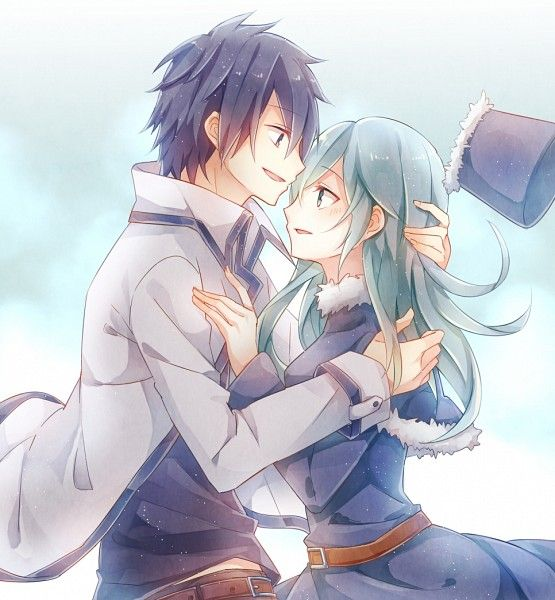 Gray Fullbuster and Juvia Loxar #fairy tail