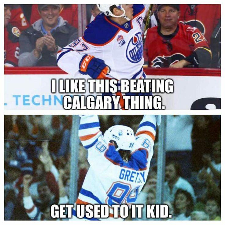 Edmonton fans love it too!