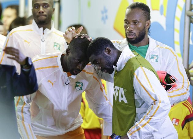 """Ibrahim Toure, the younger brother of Ivory Coast players Kolo and Yaya Toure, has died at age 28 in Manchester, England. """"Kolo and Yaya Tou..."""