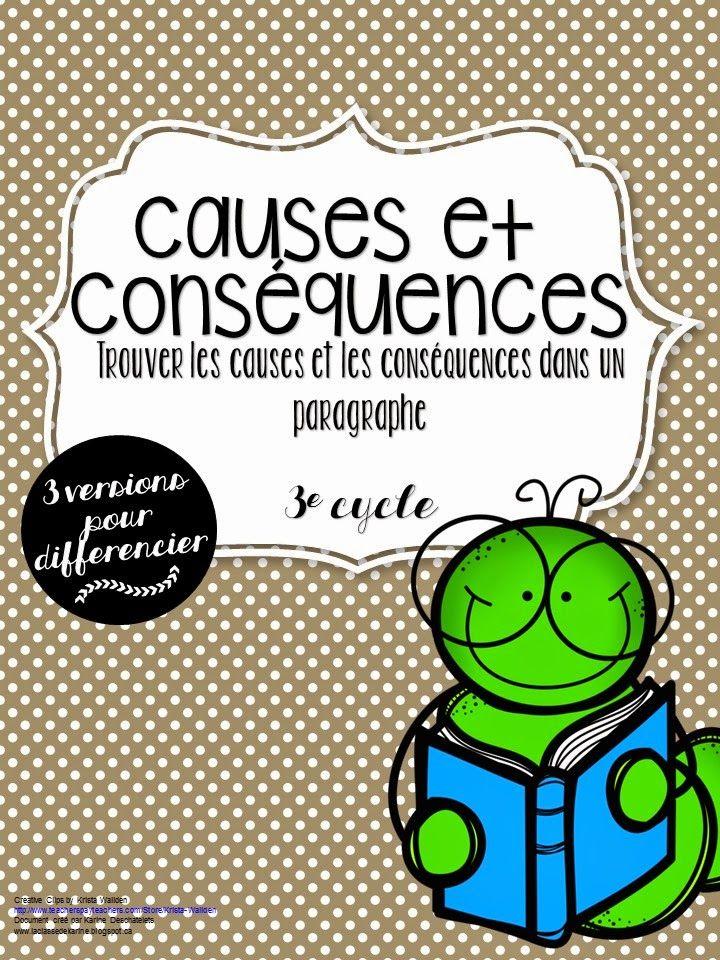 La classe de Karine: Les causes et conséquences