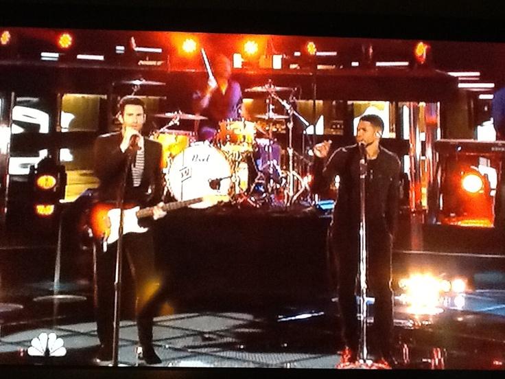 Adam and Usher!!!!!