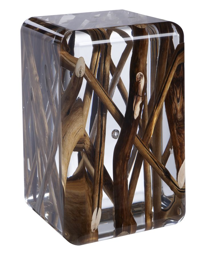 Acrylic glass and driftwood - Kisimi Ice