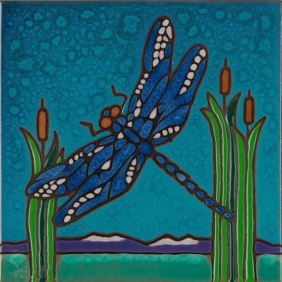 Dragonfly Magnet Design Original Art