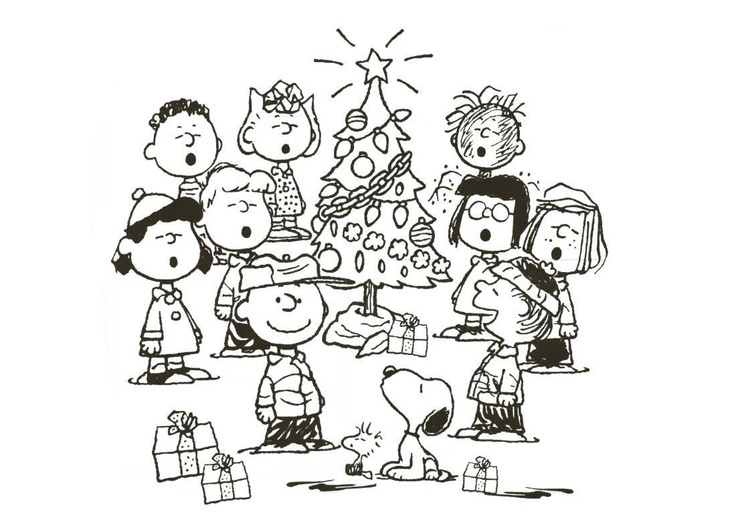Snoopy Christmas Coloring Pages Cartoons : Snoopy ...