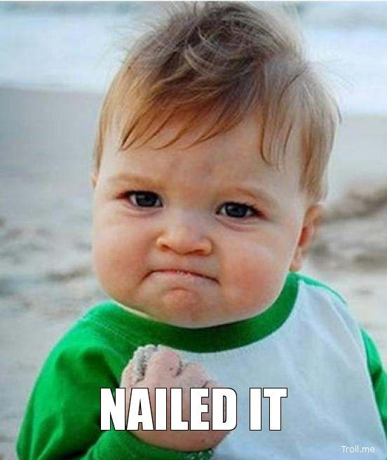 Image result for nailed it kid