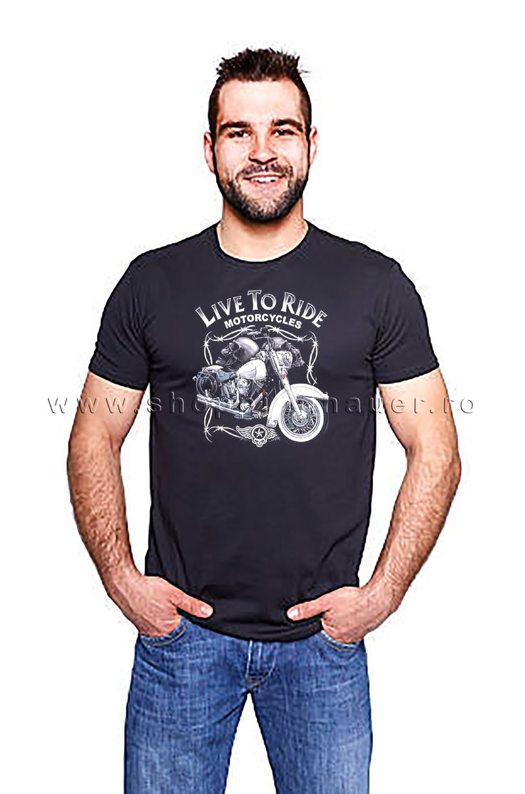 t-shirt : live to ride
