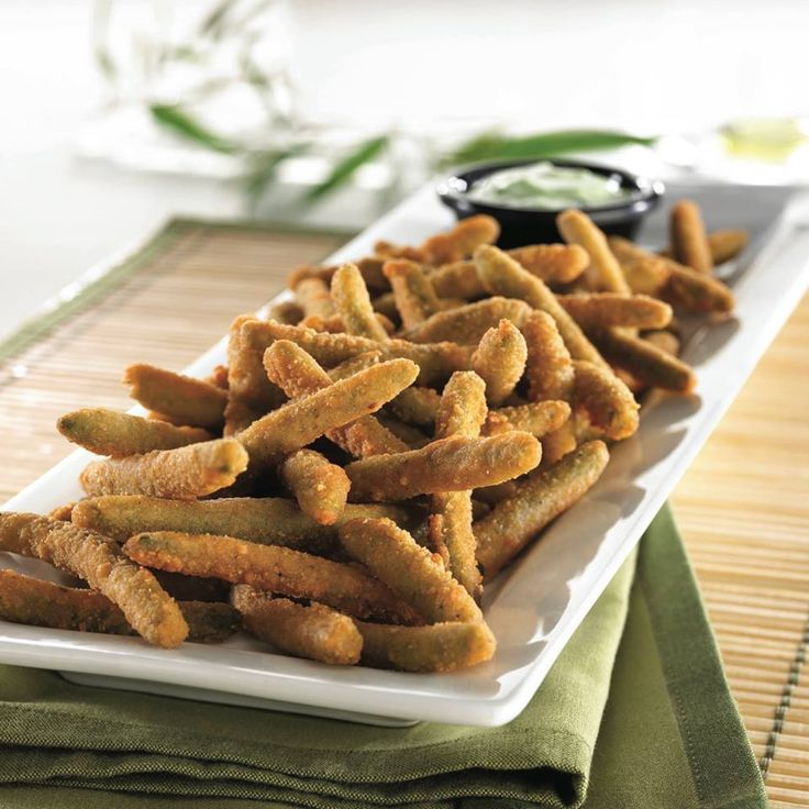 Delicious fried green beans from TGI Fridays! View TGI Friday's delivery menu here: http://mrdelivery.com/menu/columbia/t-g-i-fridays #tgifridays #columbiamissouri