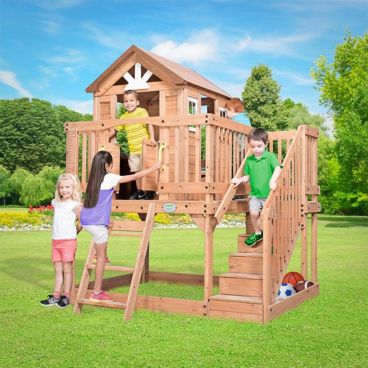 Backyard Discovery Scenic Heights Cubby House | Lifespan ...