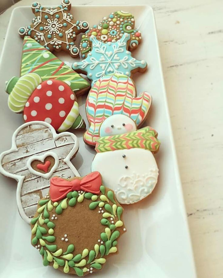 Cute Christmas Cookie Decorating Ideas