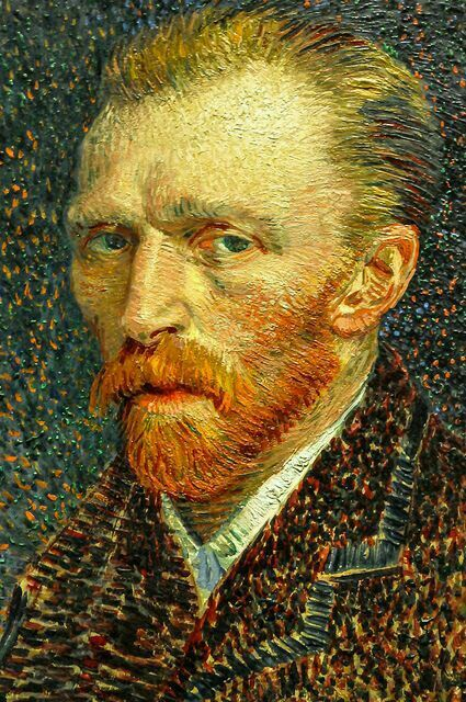 Vincent van Gogh - Self portrait - 1887